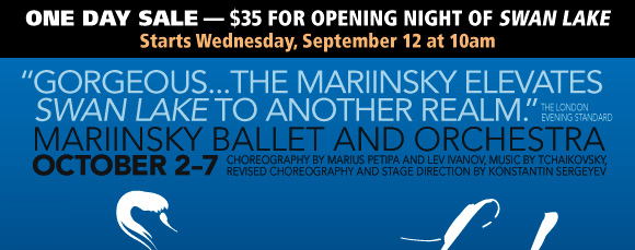 SPECIAL PRESALE OPPORTUNITY for Mariinsky Ballet and Orchestra!