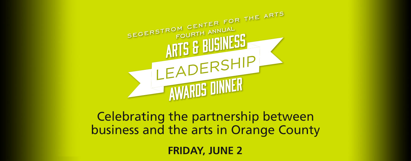 Arts & Business Leadership Awards Dinner 2017
