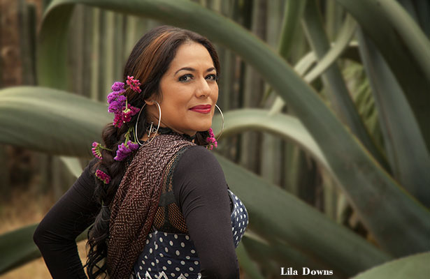 Lila Downs with Monsieur Perine