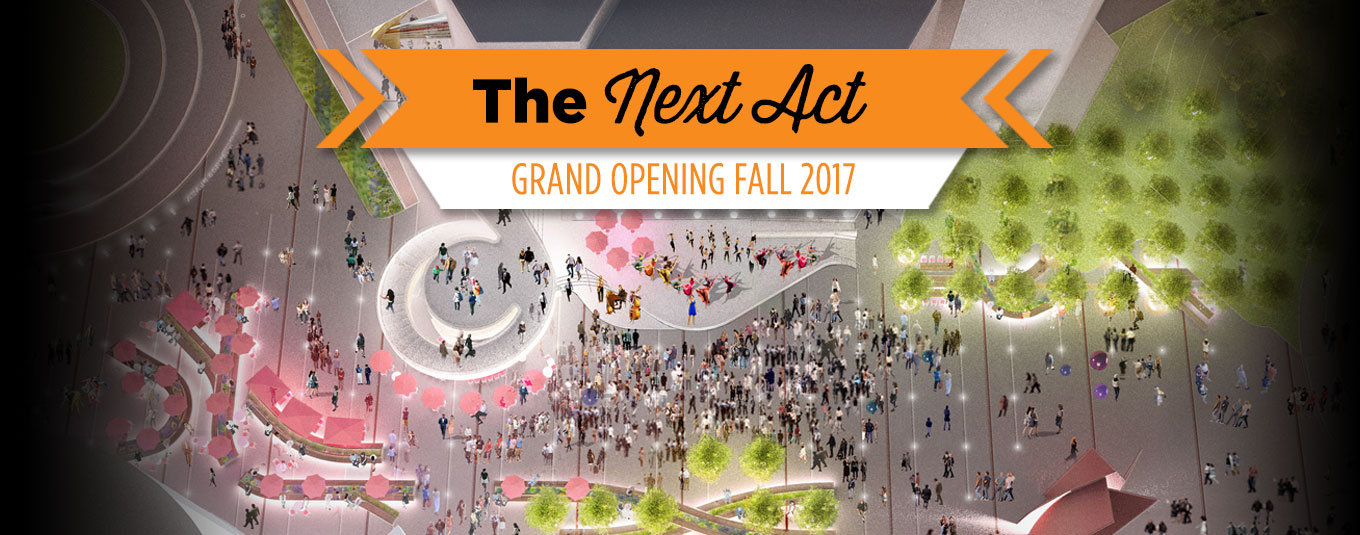 The Next Act: Breaking Ground January, 2017