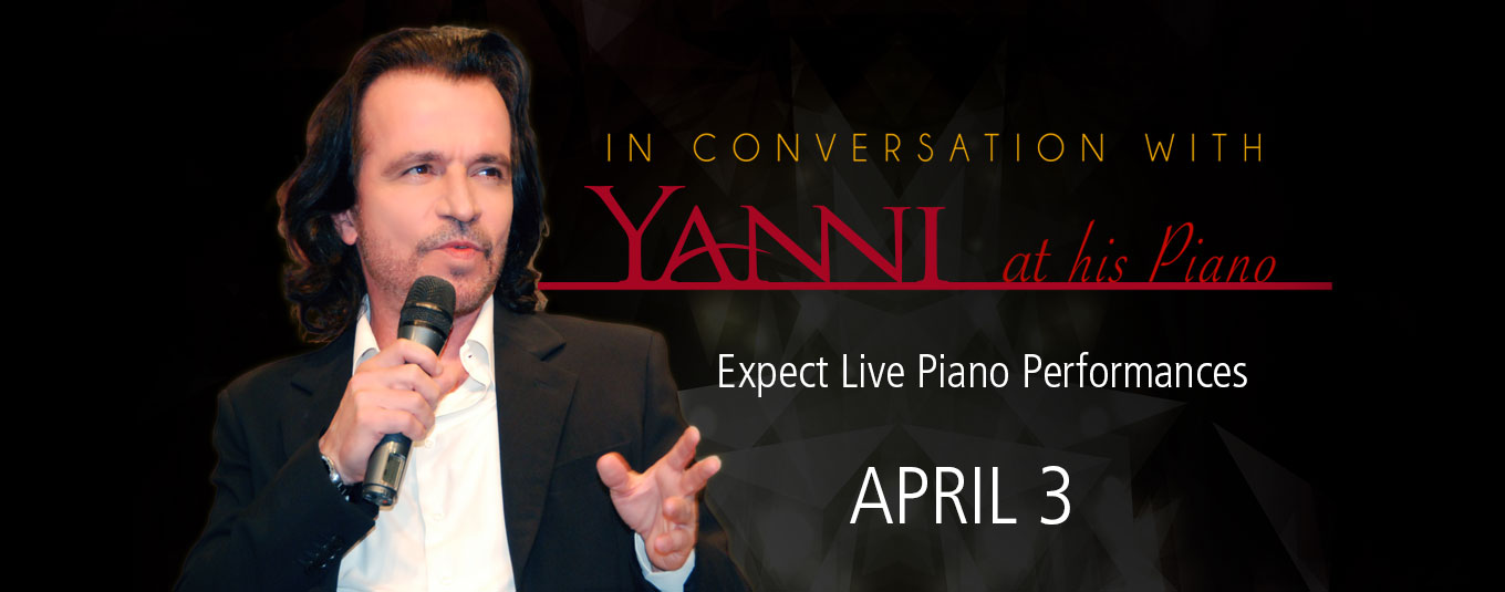 In Conversation with Yanni at his Piano