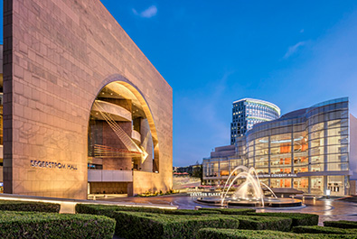 Segerstrom Campus in the Evening