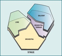 Map Seating Chart Segerstrom Hall