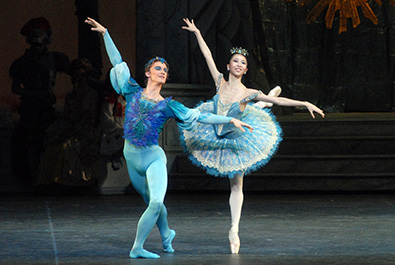 American Ballet Theatre dancers in The Sleeping Beauty