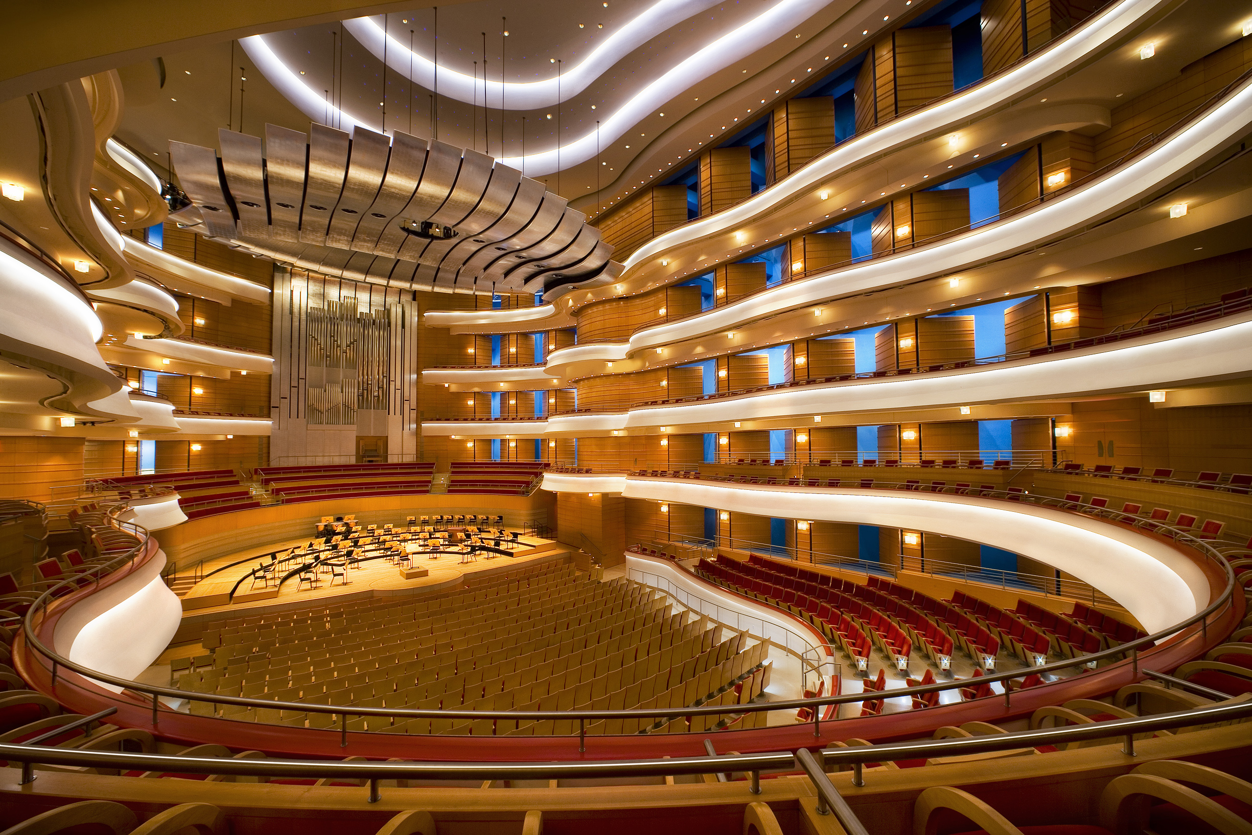 Renee And Henry Segerstrom Concert Hall on Club Interior Design